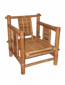 Chair from bamboo