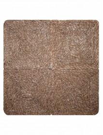 Wicker carpet 60x60cm 02S